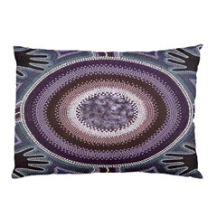 Spirit Of The Child Australian Aboriginal Art Pillow Case (two Sides)