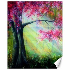 Forests Stunning Glimmer Paintings Sunlight Blooms Plants Love Seasons Traditional Art Flowers Sunsh Canvas 16  X 20