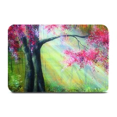 Forests Stunning Glimmer Paintings Sunlight Blooms Plants Love Seasons Traditional Art Flowers Sunsh Plate Mats
