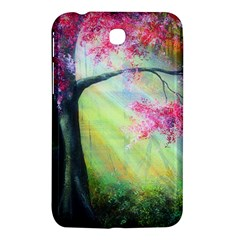 Forests Stunning Glimmer Paintings Sunlight Blooms Plants Love Seasons Traditional Art Flowers Sunsh Samsung Galaxy Tab 3 (7 ) P3200 Hardshell Case