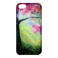 Forests Stunning Glimmer Paintings Sunlight Blooms Plants Love Seasons Traditional Art Flowers Sunsh Apple Iphone 5c Hardshell Case