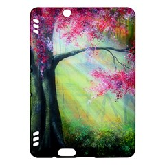Forests Stunning Glimmer Paintings Sunlight Blooms Plants Love Seasons Traditional Art Flowers Sunsh Kindle Fire Hdx Hardshell Case