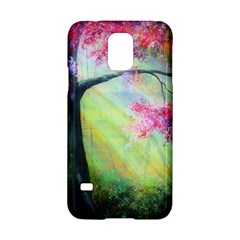 Forests Stunning Glimmer Paintings Sunlight Blooms Plants Love Seasons Traditional Art Flowers Sunsh Samsung Galaxy S5 Hardshell Case