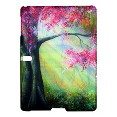 Forests Stunning Glimmer Paintings Sunlight Blooms Plants Love Seasons Traditional Art Flowers Sunsh Samsung Galaxy Tab S (10 5 ) Hardshell Case