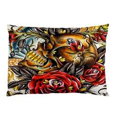 Flower Art Traditional Pillow Case