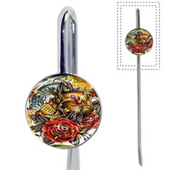 Flower Art Traditional Book Mark