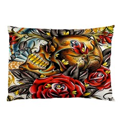 Flower Art Traditional Pillow Case (two Sides)