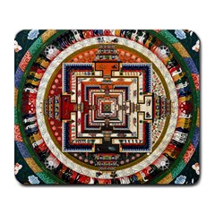 Colorful Mandala Large Mousepads