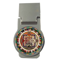 Colorful Mandala Money Clips (round)