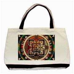 Colorful Mandala Basic Tote Bag