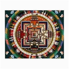 Colorful Mandala Small Glasses Cloth (2 Side)