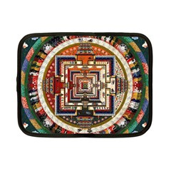 Colorful Mandala Netbook Case (small)