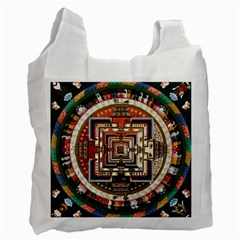 Colorful Mandala Recycle Bag (one Side)