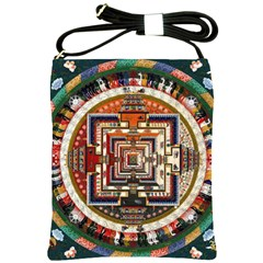 Colorful Mandala Shoulder Sling Bags