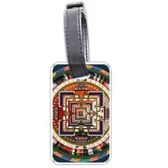 Colorful Mandala Luggage Tags (one Side)
