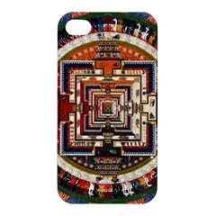 Colorful Mandala Apple Iphone 4/4s Hardshell Case