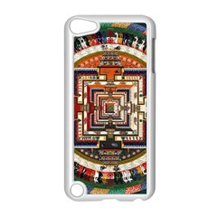Colorful Mandala Apple Ipod Touch 5 Case (white)