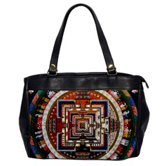 Colorful Mandala Office Handbags