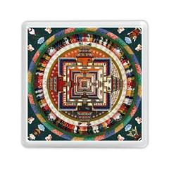 Colorful Mandala Memory Card Reader (square)