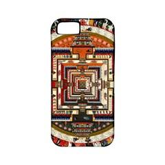 Colorful Mandala Apple Iphone 5 Classic Hardshell Case (pc+silicone)