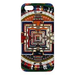 Colorful Mandala Iphone 5s/ Se Premium Hardshell Case