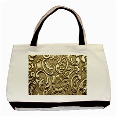 Golden European Pattern Basic Tote Bag (two Sides)