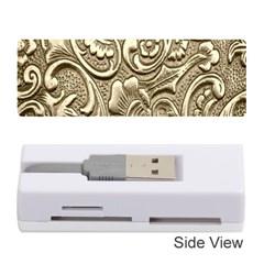 Golden European Pattern Memory Card Reader (stick)