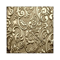 Golden European Pattern Acrylic Tangram Puzzle (6  X 6 )