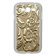 Golden European Pattern Samsung Galaxy Grand Duos I9082 Case (white)