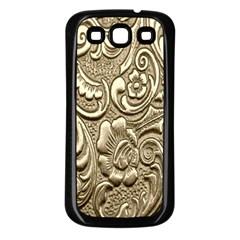 Golden European Pattern Samsung Galaxy S3 Back Case (black)