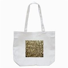 Golden European Pattern Tote Bag (white)