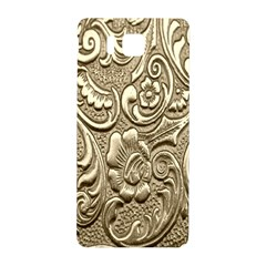 Golden European Pattern Samsung Galaxy Alpha Hardshell Back Case