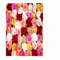 Rose Color Beautiful Flowers Large Garden Flag (two Sides)