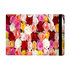 Rose Color Beautiful Flowers Apple Ipad Mini Flip Case