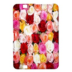 Rose Color Beautiful Flowers Kindle Fire Hd 8 9