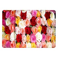 Rose Color Beautiful Flowers Samsung Galaxy Tab 10 1  P7500 Flip Case