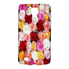 Rose Color Beautiful Flowers Galaxy S4 Active