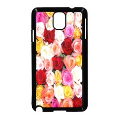 Rose Color Beautiful Flowers Samsung Galaxy Note 3 Neo Hardshell Case (black)