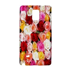 Rose Color Beautiful Flowers Samsung Galaxy Note 4 Hardshell Case