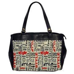 Backdrop Style With Texture And Typography Fashion Style Office Handbags