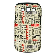 Backdrop Style With Texture And Typography Fashion Style Samsung Galaxy S Iii Classic Hardshell Case (pc+silicone)