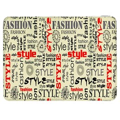 Backdrop Style With Texture And Typography Fashion Style Samsung Galaxy Tab 7  P1000 Flip Case