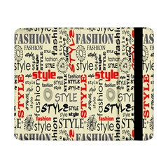 Backdrop Style With Texture And Typography Fashion Style Samsung Galaxy Tab Pro 8 4  Flip Case