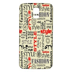 Backdrop Style With Texture And Typography Fashion Style Samsung Galaxy S5 Back Case (white)