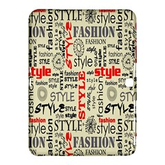 Backdrop Style With Texture And Typography Fashion Style Samsung Galaxy Tab 4 (10 1 ) Hardshell Case