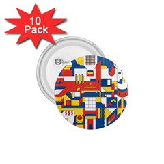 Hide And Seek 1 75  Buttons (10 Pack)