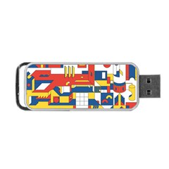 Hide And Seek Portable Usb Flash (one Side)
