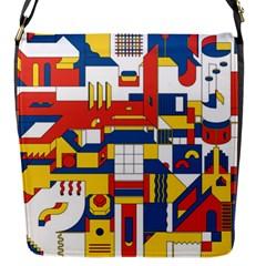 Hide And Seek Flap Messenger Bag (s)