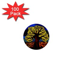 Tree Of Life 1  Mini Buttons (100 Pack)