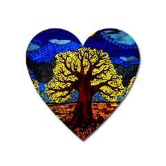 Tree Of Life Heart Magnet